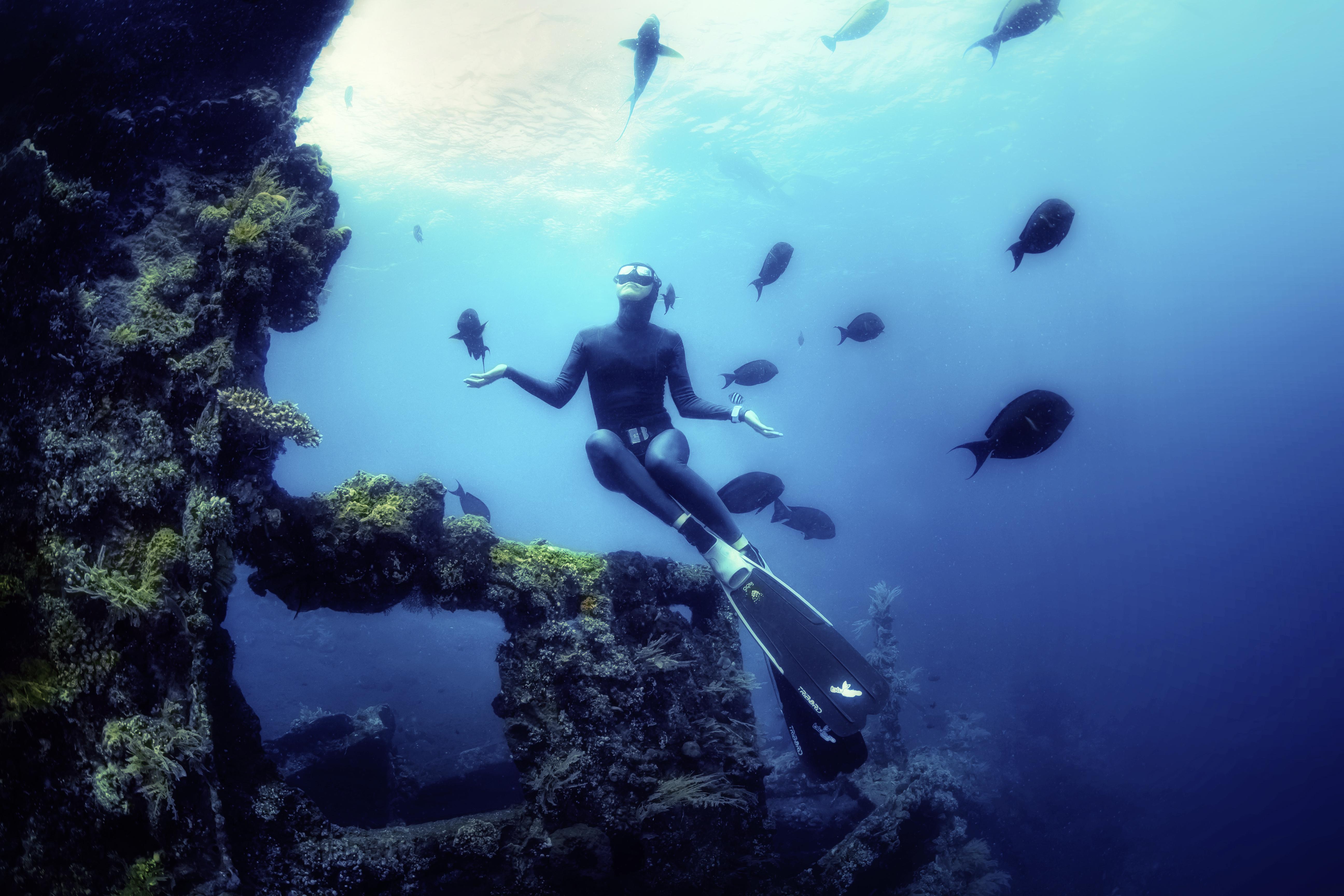 Freedriving na Bali